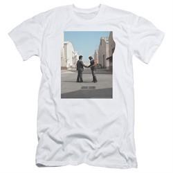 Pink Floyd Slim Fit Shirt Wish You Were Here White T-Shirt