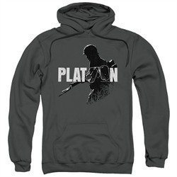 Platoon Hoodie Shadow Of War Charcoal Sweatshirt Hoody