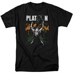 Platoon Shirt Graphic Black Tee T-Shirt