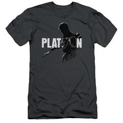 Platoon Slim Fit Shirt Shadow Of War Charcoal T-Shirt
