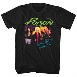 Poison Shirt Nothin But A Good Time Black T-Shirt