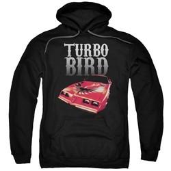 Pontiac Hoodie Turbo Bird Black Sweatshirt Hoody