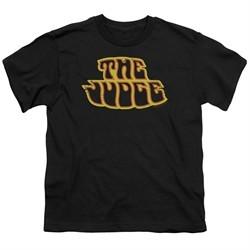 Pontiac Kids Shirt Judge Logo Black T-Shirt