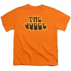 Pontiac Kids Shirt Judge Logo Orange T-Shirt
