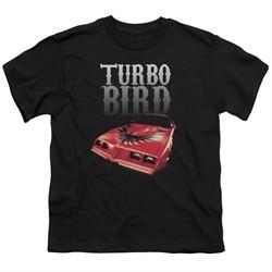 Pontiac Kids Shirt Turbo Bird Black T-Shirt