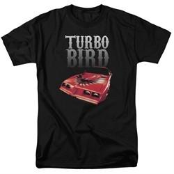 Pontiac Shirt Turbo Bird Black T-Shirt