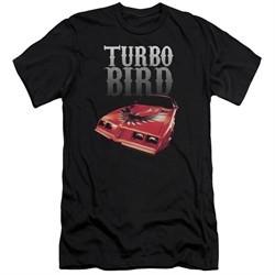 Pontiac Slim Fit Shirt Turbo Bird Black T-Shirt