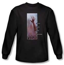 Psycho T-shirt Movie Relax Adult Black Long Sleeve Tee Shirt