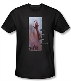 Psycho T-shirt Movie Relax Adult Black Slim Fit Tee Shirt
