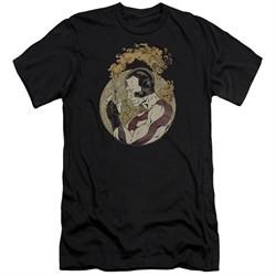 Rai Valiant Comics Slim Fit Shirt Japanese Print Black Tee T-Shirt