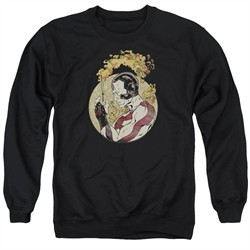 Rai Valiant Comics Sweatshirt Japanese Print Adult Black Sweat Shirt