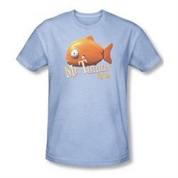 Rango Shirt Poster Mr Timms Adult Heather Light Blue Tee T-Shirt