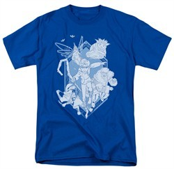 Rise Of The Guardians Shirt Coming For You Adult Royal Tee T-Shirt