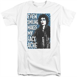 Rocky Horror Picture Show Shirt Face Ache Tall White T-Shirt