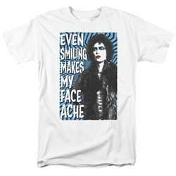 Rocky Horror Picture Show Shirt Face Ache White T-Shirt