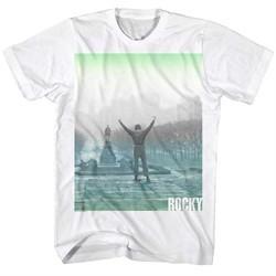 Rocky Shirt Arms Raised High White T-Shirt