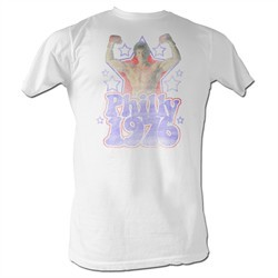 Rocky Shirt Philly 1976 White T-Shirt