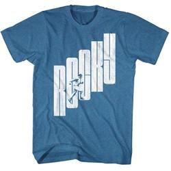 Rocky Shirt Rocky Stairs Royal Heather T-Shirt