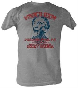Rocky T-shirt Micks Gym Classic Adult Grey Heather Tee Shirt