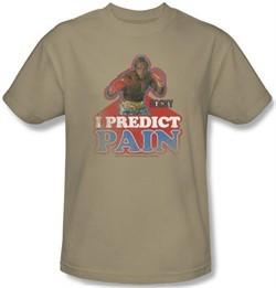 Rocky T-Shirt I Predict Pain Classic Adult Sand Tee Shirt