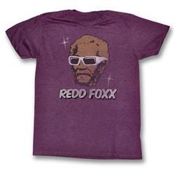 Sanford & Son Shirt A Star Maroon T-Shirt