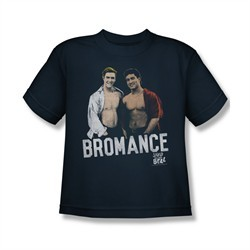 Saved By The Bell Shirt Kids Bromance Navy Youth T-Shirt