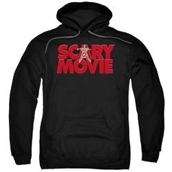 Scary Movie  Hoodie Logo Black Sweatshirt Hoody