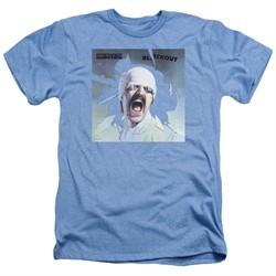 Scorpions Shirt Blackout Heather Light Blue T-Shirt