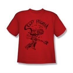 Scott Pilgrim Vs. The World Shirt Kids Rockin Red Youth Tee T-Shirt