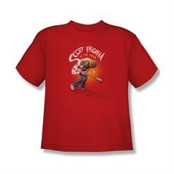 Scott Pilgrim Vs. The World Shirt Kids Scott Poster Red Youth Tee T-Shirt