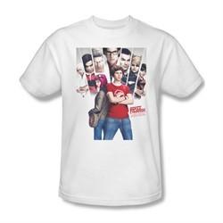 Scott Pilgrim Vs. The World Shirt Pilgrim Poster Adult White Tee T-Shirt