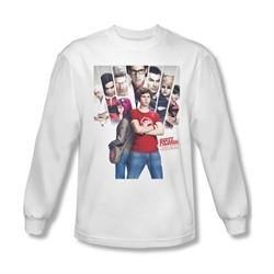 Scott Pilgrim Vs. The World Shirt Pilgrim Poster Long Sleeve White Tee T-Shirt