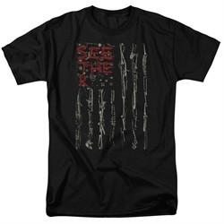 Seether Shirt Bone Flag Black T-Shirt
