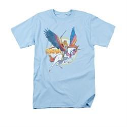 She-Ra Shirt And Swiftwind Adult Light Blue Tee T-Shirt