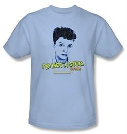 Sixteen Candles T-shirt Movie Stud Adult Light Blue Tee Shirt