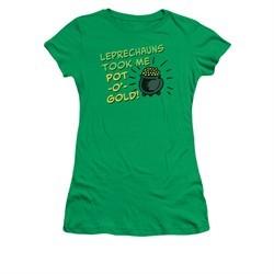 St. Patrick's Day Shirt Juniors Merry Thieves Kelly Green Tee T-Shirt
