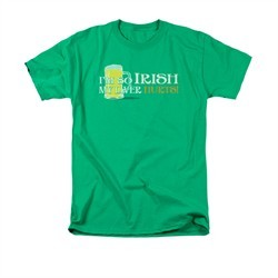St. Patrick's Day Shirt So Irish Adult Kelly Green Tee T-Shirt