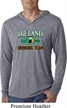 St Patrick's Day Ireland Drinking Team Lightweight Hoodie Shirt