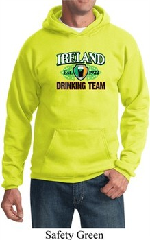 St Patrick's Day Ireland EST 1922 Drinking Team Hoodie