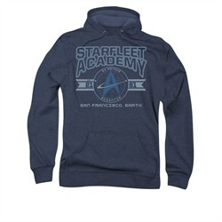 Star Trek Hoodie Classic Logo Navy Sweatshirt Hoody