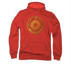 Star Trek Hoodie Engineering Red Sweatshirt Hoody