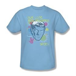 Star Trek Shirt Japanese Spock Light Blue T-Shirt