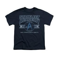 Star Trek Shirt Kids Classic Logo Navy T-Shirt