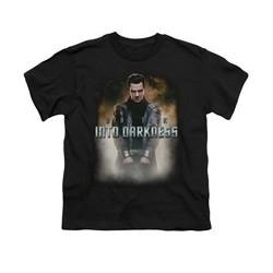 Star Trek Shirt Kids Darkness Harrison Black T-Shirt