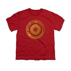 Star Trek Shirt Kids Engineering Red T-Shirt