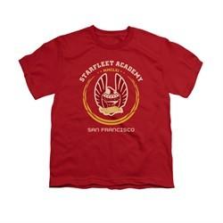 Star Trek Shirt Kids Heraldry Red T-Shirt