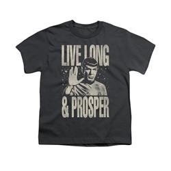 Star Trek Shirt Kids Prosper Charcoal T-Shirt