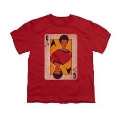 Star Trek Shirt Kids Queen Red T-Shirt
