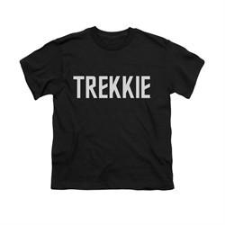 Star Trek Shirt Kids Trekkie Black T-Shirt