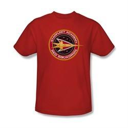Star Trek Shirt Red Squadron Red T-Shirt